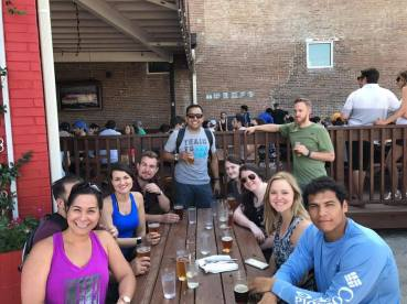 April 2017: Happy Hour after Bike Tour