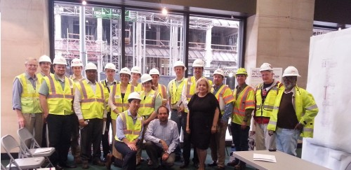 April 2014: METRORail Tour featuring YPT Houston, ASCE, and METRORail employees.