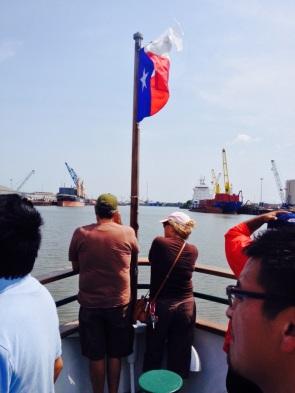 August 2015: Port of Houston Boat Tour