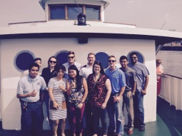 August 2015: Port of Houston Boat Tour