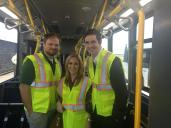 Board members Nick Norboge, Lauren Cochran & Todd Hanson on tour.