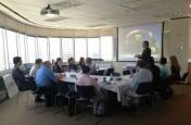 July 2013: Networking Lunch Uptown Houston President John Breeding.