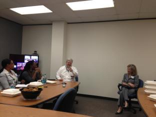 Guest Speaker Tony Voigt, P.E., TTI Research and Implementation Program Mananger.