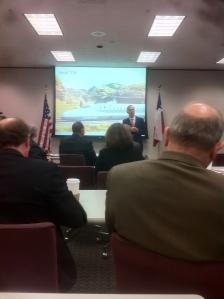 "Texas Central Railway president Robert Eckels presents at HGAC ""Brown Bag"" Jan. 20th"