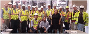 April 2014: METRORail Tour featuring YPT Houston, ASCE, and METRORail employees