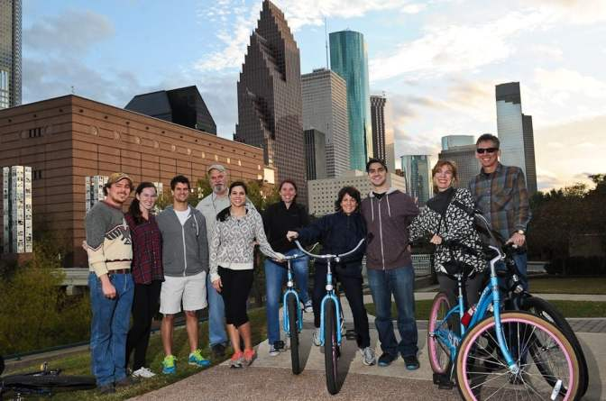 Monthly Event – Bike Tour with Bayou City Bike Tours – April 22nd