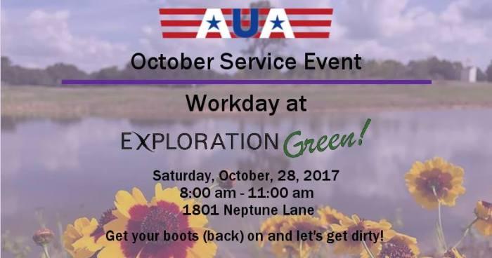 2017 October Service