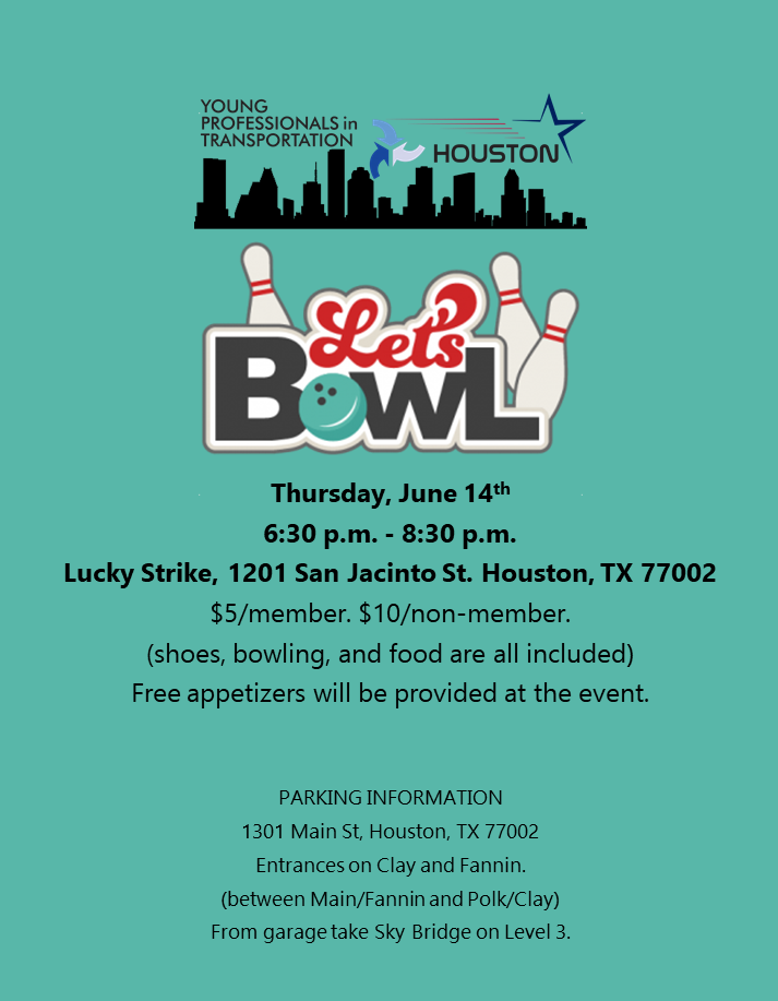 Bowling - June Social Event
