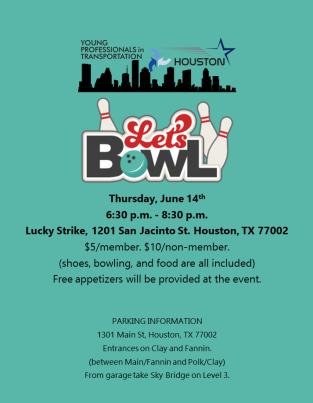 Bowling - June Social Event