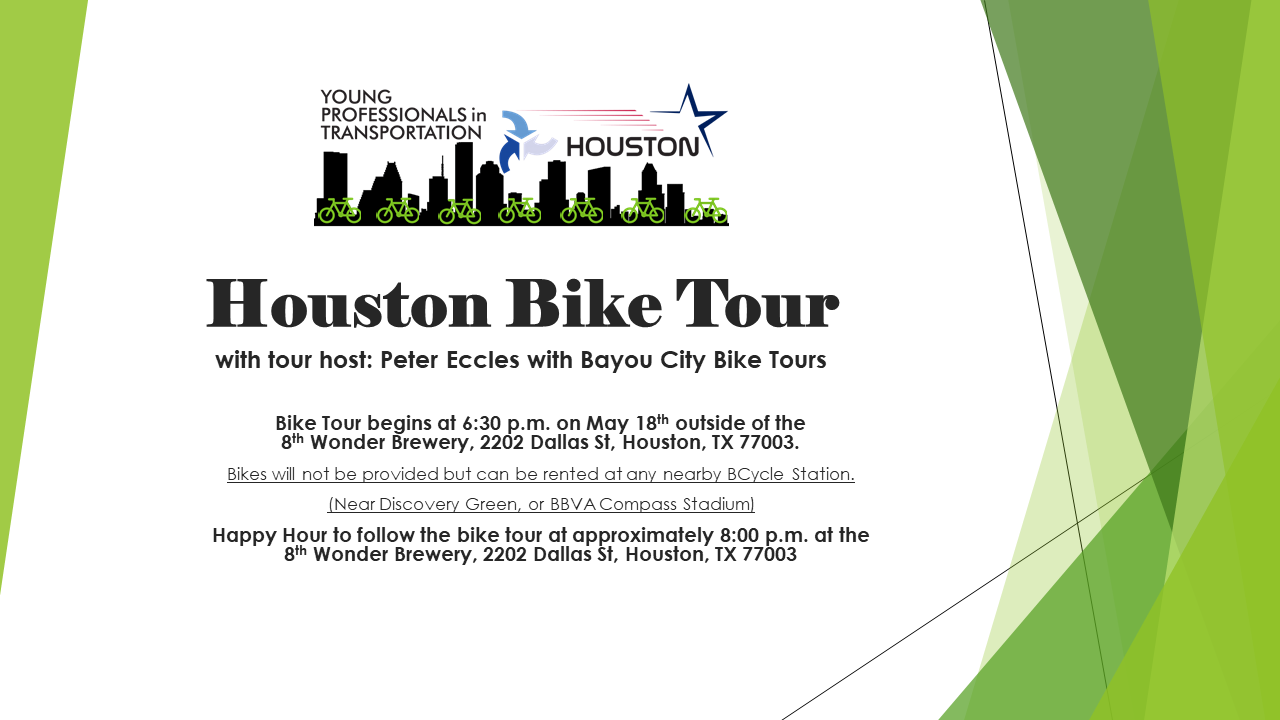 Houston Bike Tour