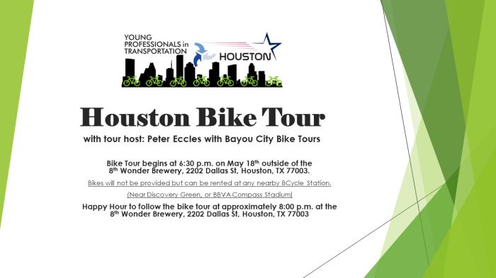 Houston Bike Tour